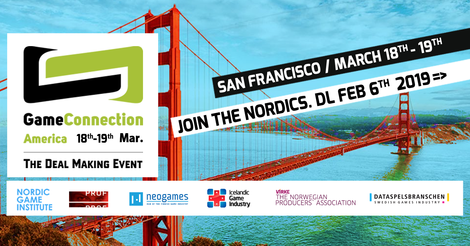 20ece23a2 JOIN NEOGAMES AND THE NORDICS AT GAME CONNECTION AMERICA 18.-19.3.2019 IN  SAN FRANCISCO